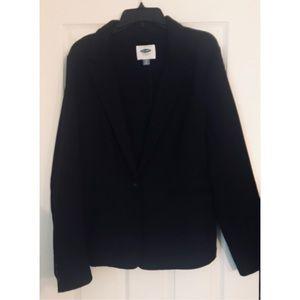 Old Navy, Black Stretch Blazer, Sz XL